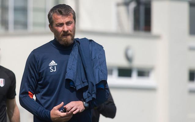 "Slavisa Jokanovic, the Fulham manager, has insisted he has not thought about his future beyond Saturday's Championship play-off final, despite speculation that a string of key figures will leave the club if they cannot seal promotion to the Premier League. Jokanovic, who has turned Fulham into one of the Championship's most attractive sides, has been linked with a move and is likely to be in demand this summer. Speaking ahead of the match against Aston Villa at Wembley, Jokanovic refused to discuss either his future or the prospect of key players leaving. Tom Cairney, Fulham's captain, warned this month that the club needed to be in the Premier League next season if they wanted to keep the team together. Cairney has been linked with a move to West Ham United, while Ryan Sessegnon and Ryan Fredericks have also been targeted by top-flight clubs. Jokanovic, who has one year remaining on his deal, said: ""I have a contract and that's it. I am not thinking about the future. This game is so huge that I do not know what I am going to do on Sunday morning. ""To be honest, I do not care. I am not thinking about this. I am only thinking about the job ahead of us. We want to fight to bring Fulham to the place we believe they belong."" The 49-year-old added that he believed Fulham could ""dominate"" Steve Bruce's Villa with their high-intensity, possession-based style of football. Tom Cairney wants to be playing in the Premier League Credit: pa Fulham were defeated 2-1 at Villa Park in October, but won 2-0 when the sides met again in February. Jokanovic said his players would attempt to target Villa's John Terry, the 37-year-old centre-back who played alongside Jokanovic at Chelsea from 2000 to 2002. ""We are going to try to put against him some fast and some stronger players,"" said Jokanovic. ""I hope he will make some mistakes. This is the kind of impact I expect from his side. All of us can make mistakes. I expect some mistakes from his side and that's it."" In Terry and James Chester, his defensive partner, Villa boast an experienced back-line, as well as former Premier League players Mile Jedinak, Glenn Whelan, Robert Snodgrass and Alan Hutton. Jokanovic, however, believes his younger side, who enjoyed a 23-game unbeaten run during the regular season, will have the required energy to overcome the more wily Villa, who finished fourth in the Championship, one place behind Fulham. ""When you talk about experience, you are talking about the past,"" Jokanovic said. ""Terry is a fantastic player, Chester is a fantastic player. They have experience playing in this stadium. But probably they cannot be in their best level right now. ""We are the youngest team, the team with more energy. We believe in our style. We believe we can dominate the situation. Experience in life is important but it is not everything."""