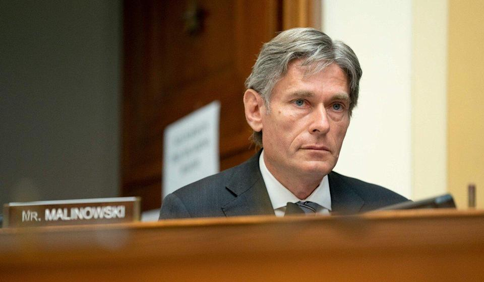 Representative Tom Malinowski, a Democrat from New Jersey, is a co-sponsor of the Hong Kong bill. Photo: AFP