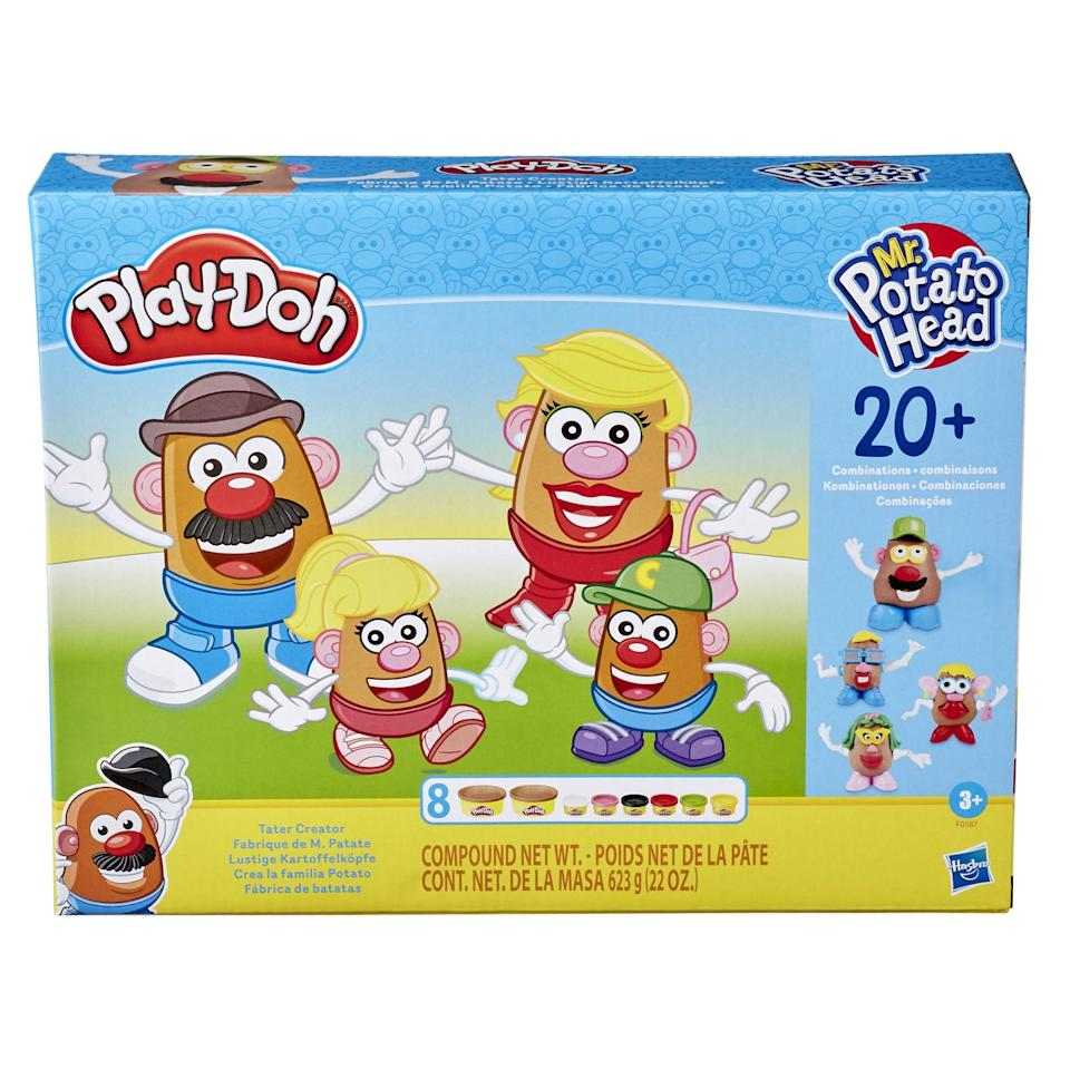 "<p><strong>Play-Doh</strong></p><p>walmart.com</p><p><strong>$14.96</strong></p><p><a href=""https://go.redirectingat.com?id=74968X1596630&url=https%3A%2F%2Fwww.walmart.com%2Fip%2F153237084&sref=https%3A%2F%2Fwww.redbookmag.com%2Flife%2Ffriends-family%2Fg34828589%2Fholiday-gifts-for-kids-of-every-age%2F"" rel=""nofollow noopener"" target=""_blank"" data-ylk=""slk:Shop Now"" class=""link rapid-noclick-resp"">Shop Now</a></p>"