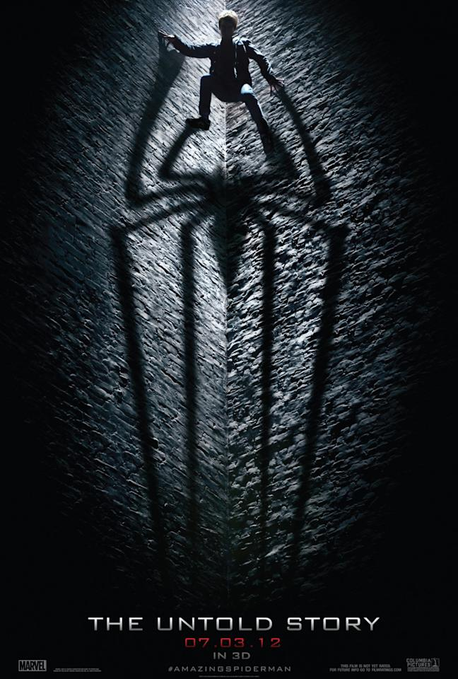 <b>The Best: THE AMAZING SPIDER-MAN</b><br><br>This striking teaser for the Spider-Man reboot dramatically announces a darker, grittier take on Marvel's wall-crawling comic book superhero.