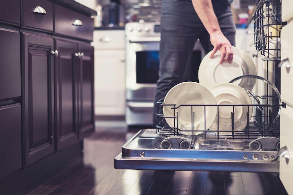 <p>Dishwashers can be a breeding ground for bacteria and mold because of their warm, damp interior and the fact that pieces of food can easily get trapped in there. </p><p><strong>How to clean</strong>: Your best bet is to buy some dishwasher cleaning tablets and run through a cycle. Make sure there's nothing else in there. </p>