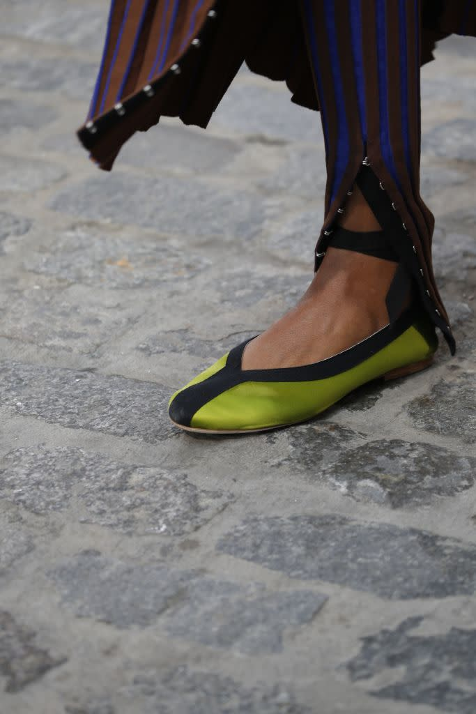 Tory Burch's new ballet flat for spring '22. - Credit: Courtesy of Tory Burch