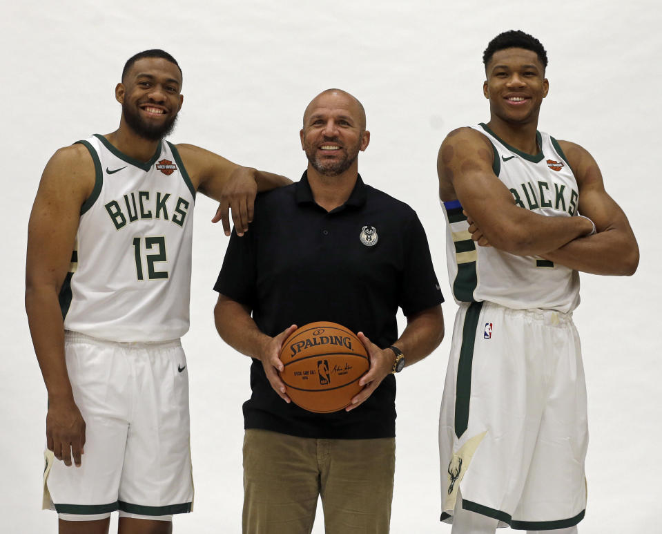 Can Jabari Parker still become the complement to Giannis Antetokounmpo we always imagined for the Bucks? (AP)