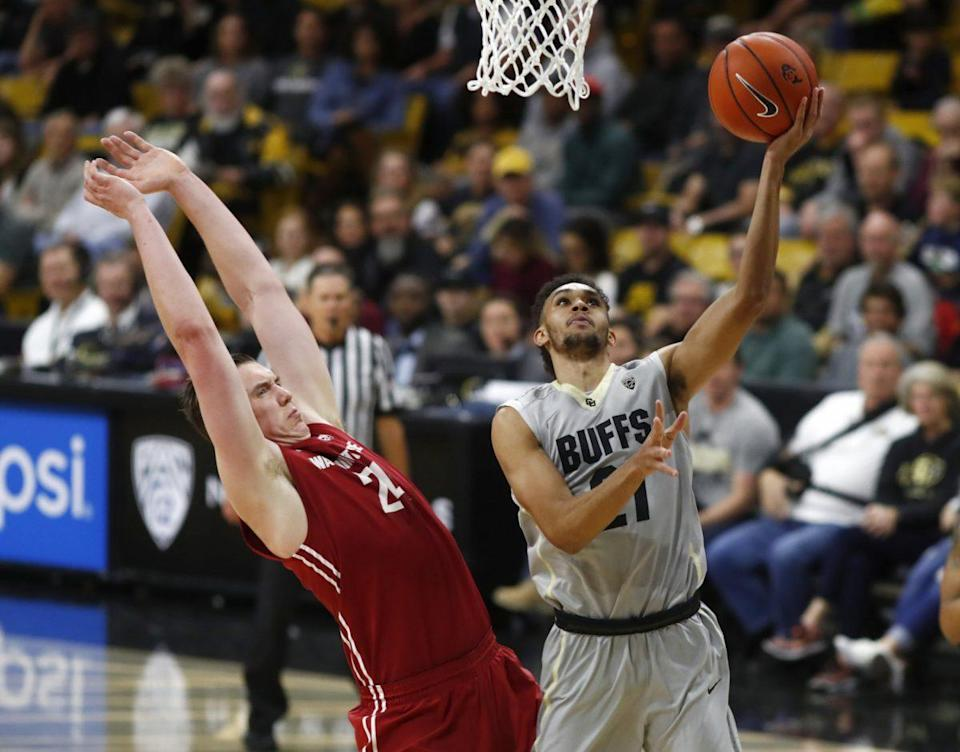 Derrick White earned first-team Pac-12 honors last season and led Colorado to the NIT. (AP)