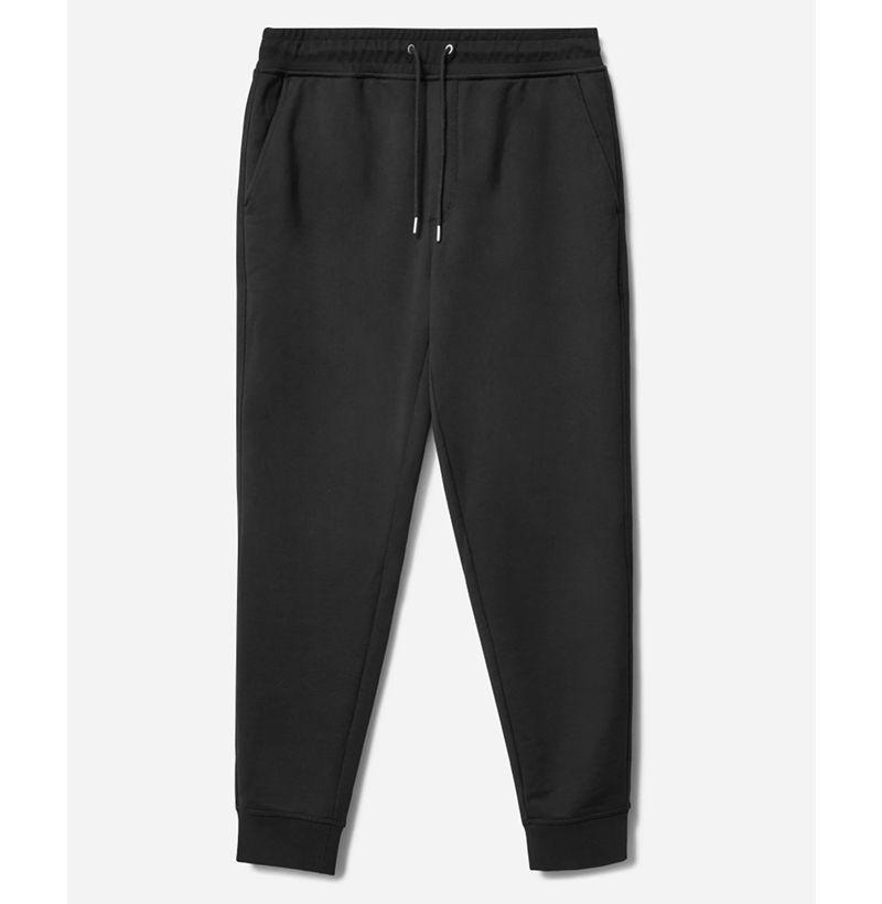"""<p><strong>Everlane</strong></p><p>everlane.com</p><p><strong>$68.00</strong></p><p><a href=""""https://go.redirectingat.com?id=74968X1596630&url=https%3A%2F%2Fwww.everlane.com%2Fproducts%2Fmens-french-terry-sweatpant-uniform-black&sref=https%3A%2F%2Fwww.esquire.com%2Fstyle%2Fmens-fashion%2Fg33995426%2Fbest-new-menswear-september-11-2020%2F"""" rel=""""nofollow noopener"""" target=""""_blank"""" data-ylk=""""slk:Buy"""" class=""""link rapid-noclick-resp"""">Buy</a></p><p>It's still the sweatpant's world, and we're all living in it (and them). </p>"""