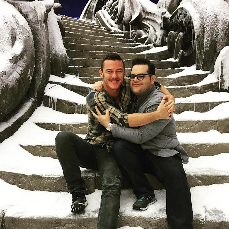 Photo credit: @joshgad / Instagram