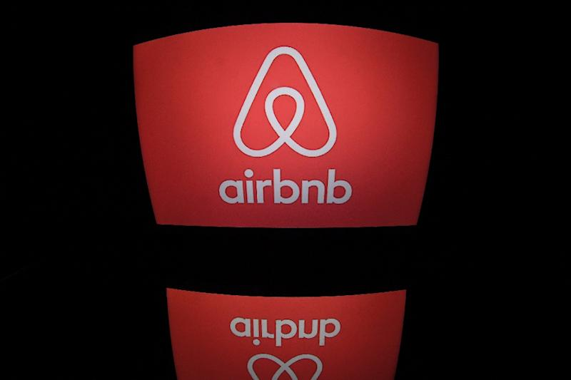 Silicon Valley firms such as Airbnb are grappling with efforts to promote inclusion while banning users promoting extreme views (AFP Photo/Lionel BONAVENTURE)