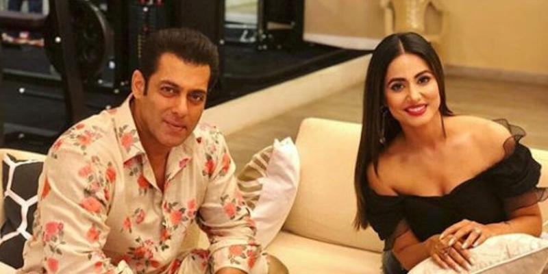 Hear, Hear! Salman Khan Claps Back at the Unsavoury Comment Made on Hina Khan's Cannes Appearance