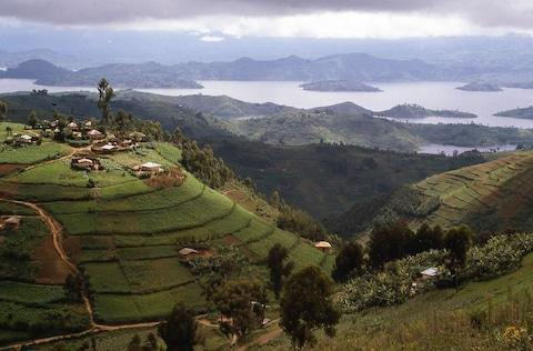 <span>The hills of Rwanda, a place which took Emilia by surprise</span> <span>Credit: iStock </span>
