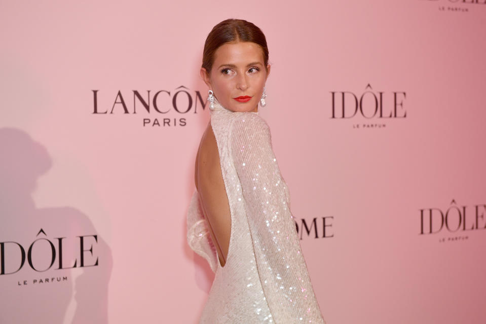 PARIS, FRANCE - JULY 02: Millie Mackintosh attends the Lancôme announces Zendaya as face of new Idôle fragrance at Palais D'Iena on July 02, 2019 in Paris, France. (Photo by Kristy Sparow/Getty Images for Lancome,)