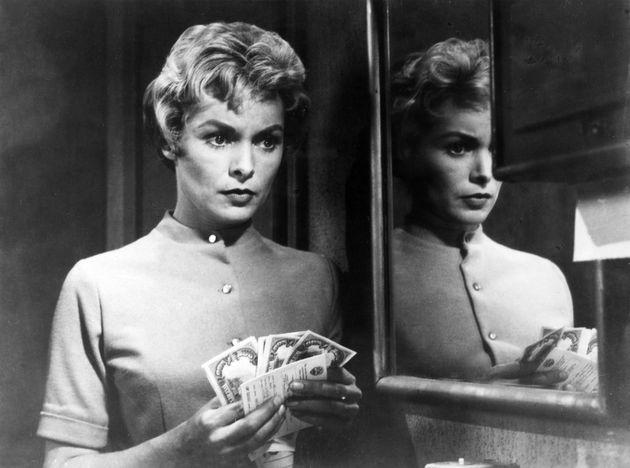 Janet Leigh in a scene from the film