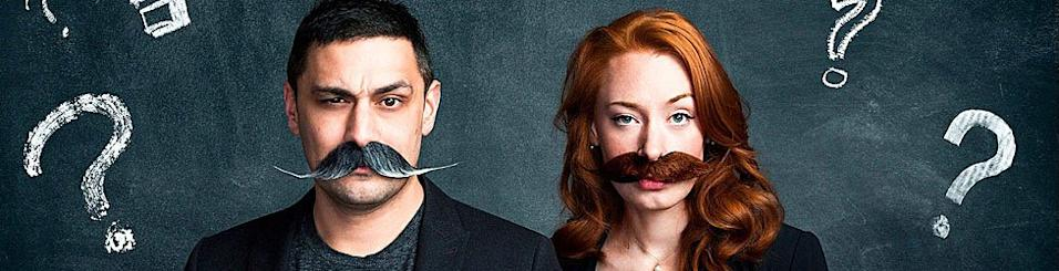 Dr Adam Rutherford and Dr Hannah Fry