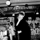 <p>Audrey Hepburn shopping in a grocery store during a trip to Madrid, Spain, circa 1966.</p>