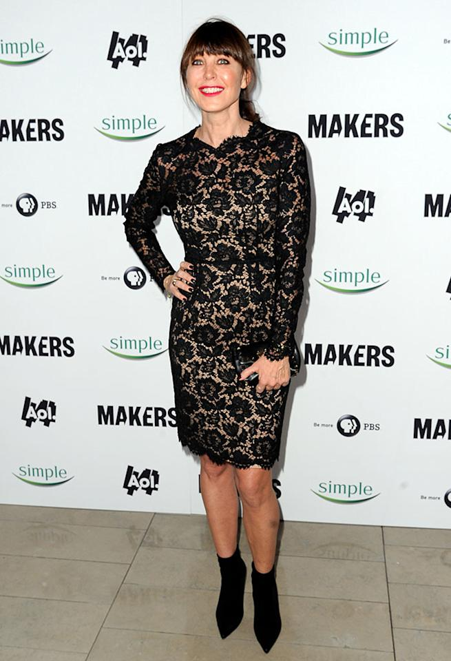 "Tamara Mellon arrives at ""MAKERS: Women Who Make America"" New York Premiere at Alice Tully Hall on February 6, 2013 in New York City."