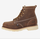 """<p><strong>Thorogood</strong></p><p>zappos.com</p><p><strong>$245.00</strong></p><p><a href=""""https://go.redirectingat.com?id=74968X1596630&url=https%3A%2F%2Fwww.zappos.com%2Fp%2Fthorogood-american-heritage-6-steel-toe-brown-crazy-horse%2Fproduct%2F8909735&sref=https%3A%2F%2Fwww.esquire.com%2Fstyle%2Fmens-fashion%2Fg12486892%2Fbest-work-boots-men%2F"""" rel=""""nofollow noopener"""" target=""""_blank"""" data-ylk=""""slk:Shop Now"""" class=""""link rapid-noclick-resp"""">Shop Now</a></p><p>The brand? Thorogood. The boots? American Heritage. The name's an immediate indication that you're about to get a pair of impressive, domestically made boots. And guess what? They're crafted with a steel toe and ready to go to work.</p>"""