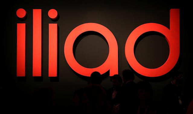 Guests waits before French telecoms operator Iliad the media conference in Milan, Italy, May 29, 2018. REUTERS/Stefano Rellandini