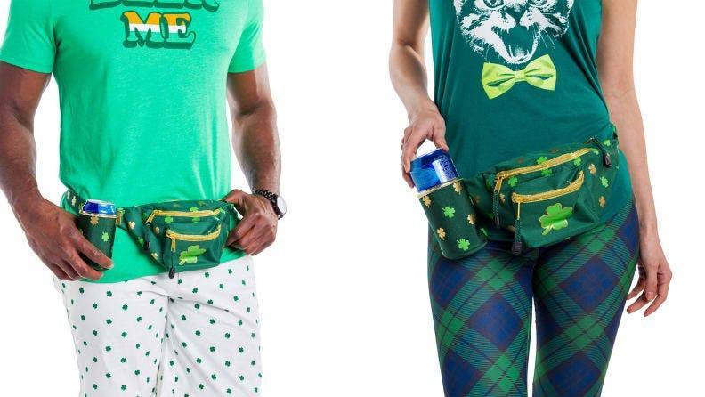This fanny pack holds everything you could need,  and  it's perfect for the occasion.