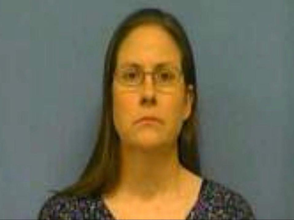 Kristy Schneider has been accused of subjecting her son to factitious disorder, previously known as Munchausen syndrome by proxy (Saline County Sheriff's Office)