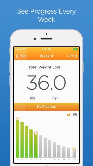 Vanish Weight Loss Tracker