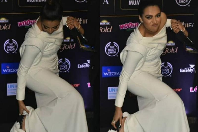 Swara Bhasker Taking Off Her Heels on the IIFA Green Carpet is Basically All of Us