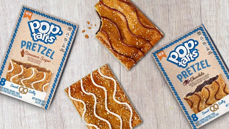 We tried the new Pretzel Pop-Tarts, and here's what we thought