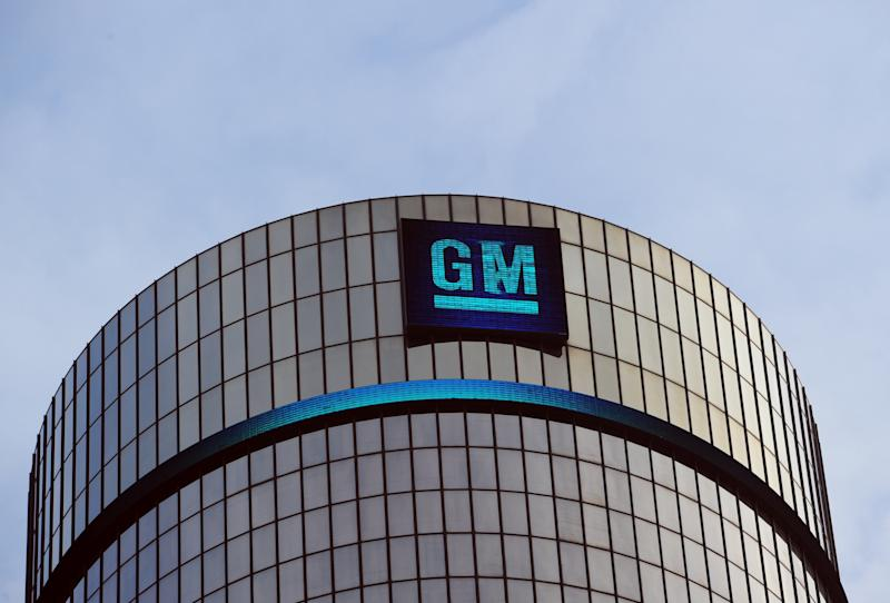 Earnings at GM fell 14.3 percent from the year-ago period to $1.47 billion as the company reported operating losses in both Europe and South America, but GM reported higher operating earnings in North America (AFP Photo/Stan Honda)