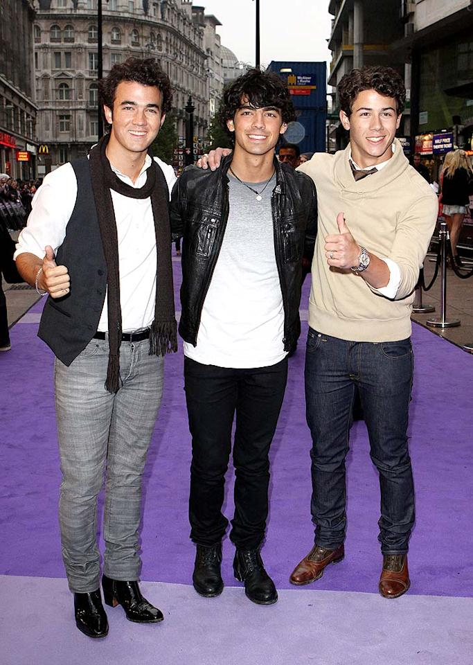 "Although the Jonas Brothers had been dropped by Columbia Records in 2007, things turned around for the musical act thanks to a guest-starring appearance on ""Hannah Montana."" Kevin, Joe, and Nick became teen heartthrobs overnight, and their record and ticket sales skyrocketed. Fred Duval/<a href=""http://filmmagic.com/"" target=""new"">FilmMagic.com</a> - May 13, 2009"