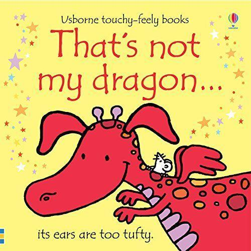 """<p><strong>Usborne Books</strong></p><p>amazon.com</p><p><strong>$13.20</strong></p><p><a href=""""http://www.amazon.com/dp/1409525481/?tag=syn-yahoo-20&ascsubtag=%5Bartid%7C10055.g.23644385%5Bsrc%7Cyahoo-us"""" rel=""""nofollow noopener"""" target=""""_blank"""" data-ylk=""""slk:Shop Now"""" class=""""link rapid-noclick-resp"""">Shop Now</a></p><p>Starting on the cover (with the """"tufty"""" ears), there's something for kids to touch on every page of this book (part of a <em><a href=""""https://www.amazon.com/kindle-dbs/entity/author/B001JSE74M?_encoding=UTF8&node=2656019011&offset=0&pageSize=12&sort=author-pages-popularity-rank&page=1&tag=syn-yahoo-20&ascsubtag=%5Bartid%7C10055.g.23644385%5Bsrc%7Cyahoo-us#formatSelectorHeader"""" rel=""""nofollow noopener"""" target=""""_blank"""" data-ylk=""""slk:That's Not My"""" class=""""link rapid-noclick-resp"""">That's Not My </a></em>series, which also includes dinosaur, unicorn and goat). Babies love feeling all different textures as they go through all the dragons, trying to find the """"right"""" one. </p>"""
