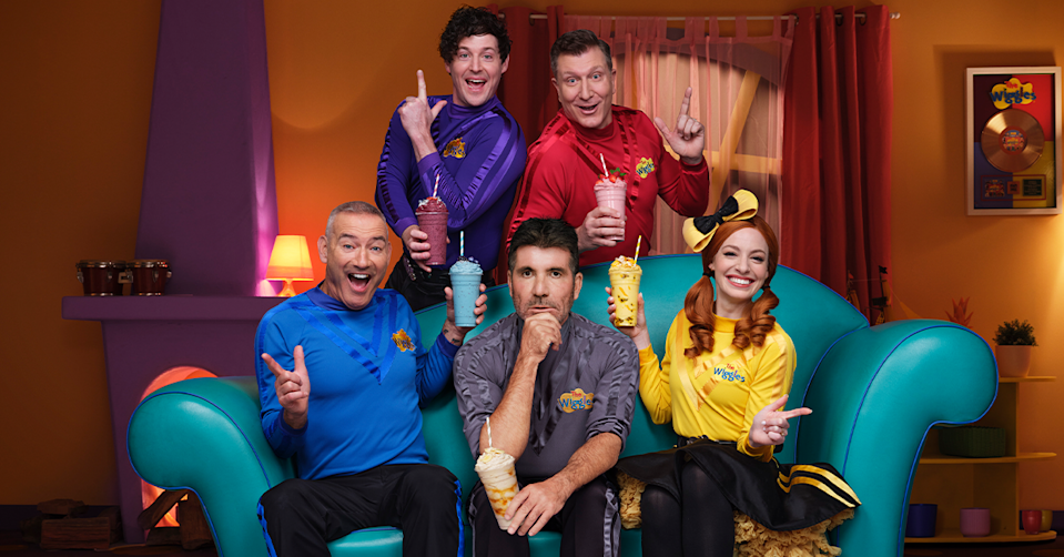 Simon Cowell and The Wiggles.