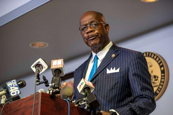 PHOTO: Fulton County District Attorney Paul Howard speaks during a press conference by the Fulton County District Attorney's Office in Atlanta, June 2, 2020. (Alyssa Pointer/AP)