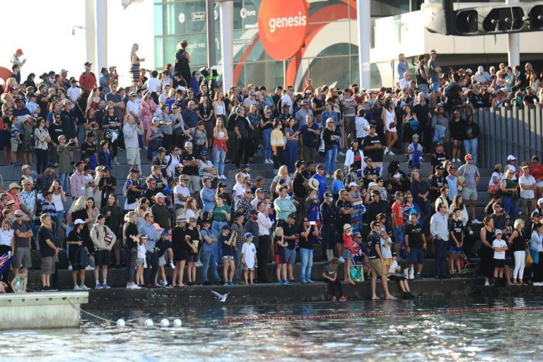 Tens of thousands of fans gathered in Auckland
