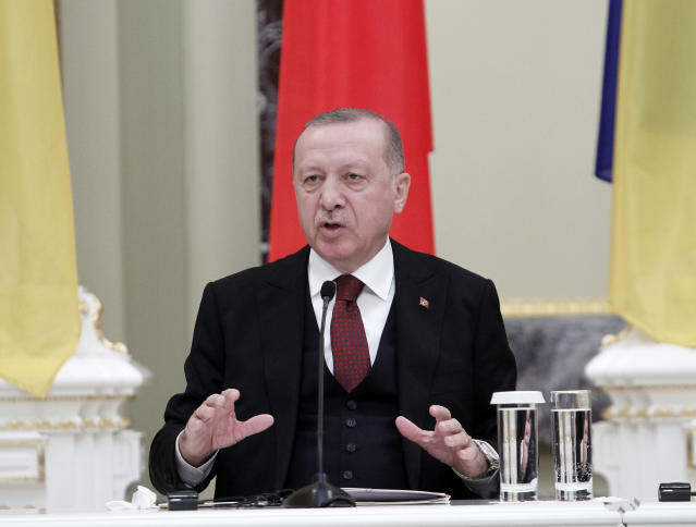 Turkish president Recep Tayyip Erdogan said millions will attempt to cross into Europe (SOPA Images/Sipa USA)