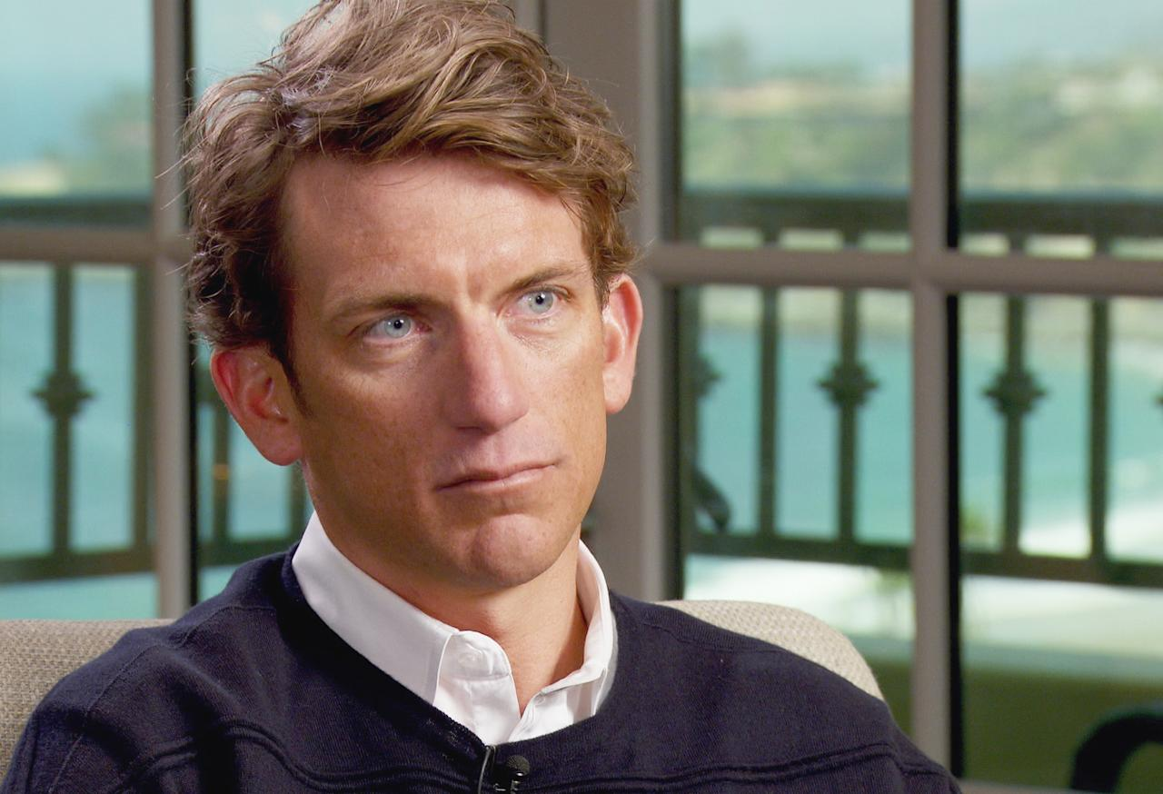 "In this image taken from video and released by CBS, cyclist and former Lance Armstrong teammate, Tyler Hamilton, speaks to ""60 Minutes"" correspondent Scott Pelley in Dana Point, Calif., this past April. Attorneys for Lance Armstrong have demanded an on-air apology from ""60 Minutes"" after the head of Switzerland's anti-doping laboratory denied allegations the seven-time Tour de France winner tested positive for performance-enhancing drugs at the 2001 Tour de Suisse."