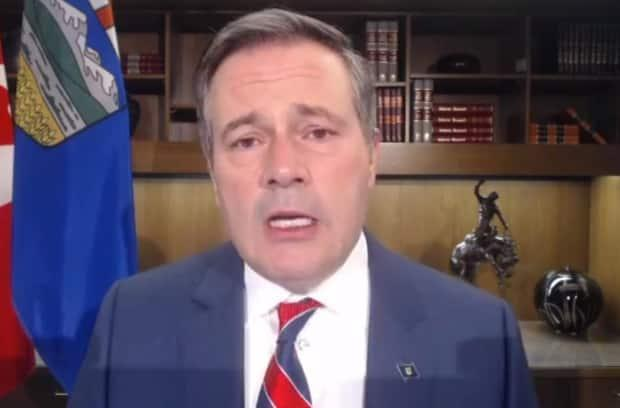 Premier Jason Kenney says he has received death threats in regards to the public health measures he's taken during the pandemic.  (Jason Kenney/Facebook - image credit)