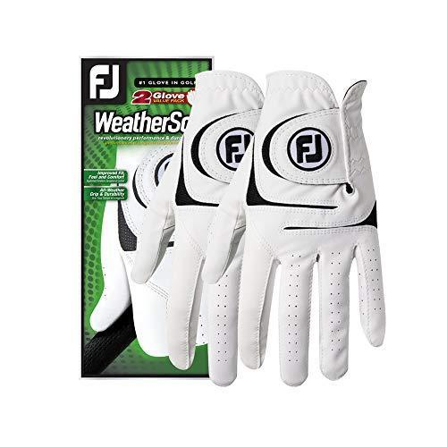"<p><strong>FootJoy</strong></p><p>amazon.com</p><p><strong>$18.95</strong></p><p><a href=""https://www.amazon.com/dp/B0755NVKL9?tag=syn-yahoo-20&ascsubtag=%5Bartid%7C10050.g.32369335%5Bsrc%7Cyahoo-us"" rel=""nofollow noopener"" target=""_blank"" data-ylk=""slk:Shop Now"" class=""link rapid-noclick-resp"">Shop Now</a></p><p>Blisters and calluses will be a thing of the past thanks to these durable, soft, and breathable golf gloves. With more than 1,000 reviews, these are the only gloves you'll need when you hit the green.</p>"
