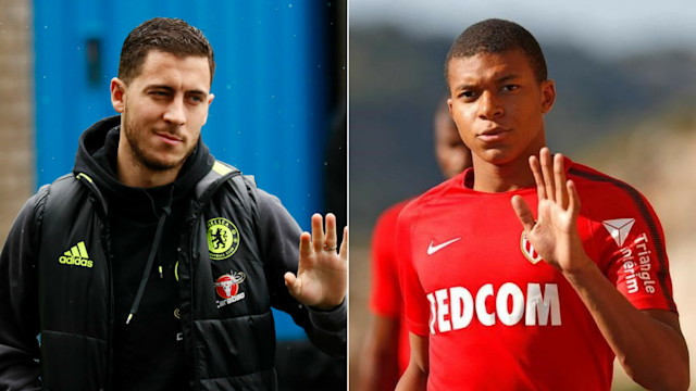 Kylian Mbappe and Eden Hazard could both be sold this summer