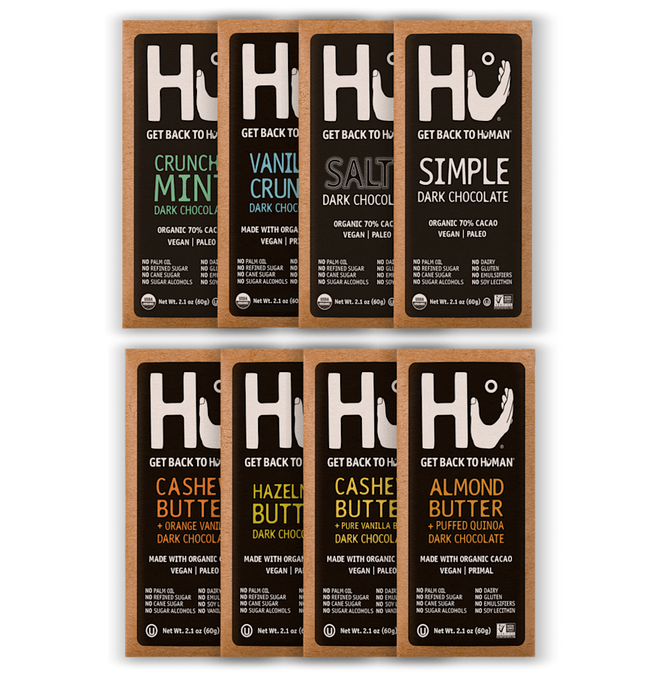 "<br><h2>Hu Kitchen Chocolate Variety Pack<br></h2><br>A perfect chocolate gift for your vegan bestie, non-dairy significant other, or your dark chocolate obsessed loved one. <br><br><em>Shop</em> <strong><em><a href=""https://hukitchen.com/"" rel=""nofollow noopener"" target=""_blank"" data-ylk=""slk:Hu Kitchen"" class=""link rapid-noclick-resp"">Hu Kitchen </a></em></strong><br><br><strong>Hu Kitchen</strong> Chocolate Variety Pack, $, available at <a href=""https://go.skimresources.com/?id=30283X879131&url=https%3A%2F%2Fhukitchen.com%2Fproducts%2Fhu-hu-chocolate-variety-pack"" rel=""nofollow noopener"" target=""_blank"" data-ylk=""slk:Hu Kitchen"" class=""link rapid-noclick-resp"">Hu Kitchen</a>"