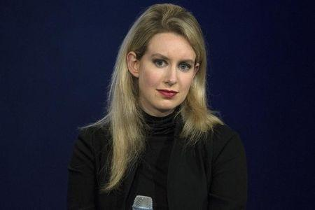 Elizabeth Holmes, CEO of Theranos, attends a panel discussion during the Clinton Global Initiative's annual meeting in New York
