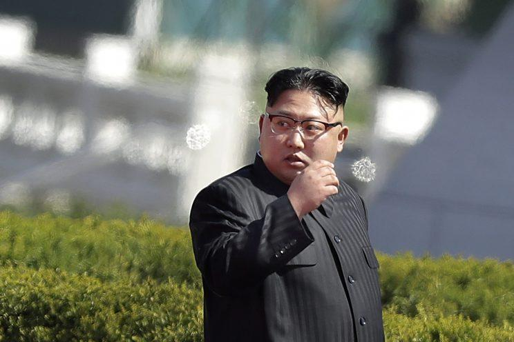 Donald Trump could try to target Kim Jon-un, the tyrannical leader of North Korea (AP)