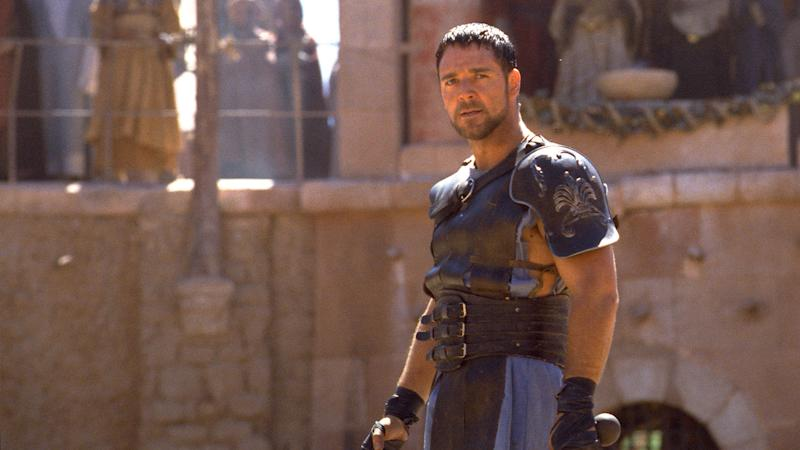 Russell Crowe in 2000's 'Gladiator' (credit: Universal)