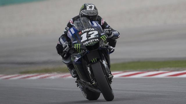 Monster Energy Yamaha rider Maverick Vinales crossed the finish line first on Sunday for his second win of the season.