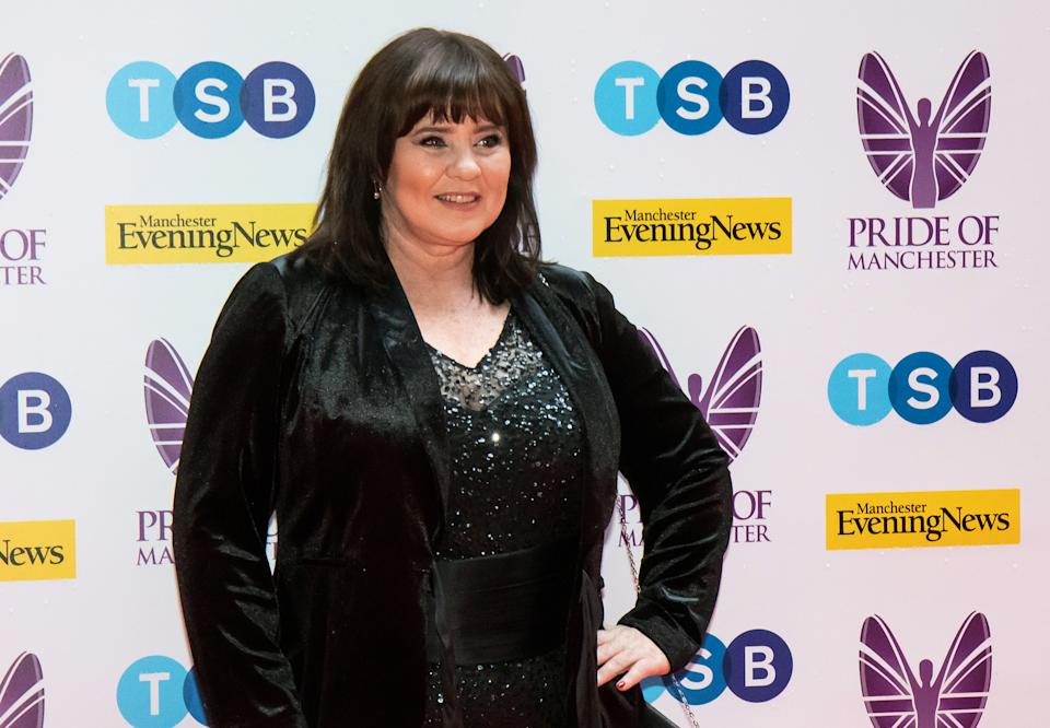 MANCHESTER, ENGLAND - MAY 08: Coleen Nolan attends the Pride of Manchester Awards 2019 at Waterhouse Way on May 08, 2019 in Manchester, England. (Photo by Carla Speight/Getty Images)