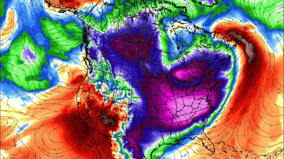 Polar vortex-type cold wave could freeze parts of U.S ...