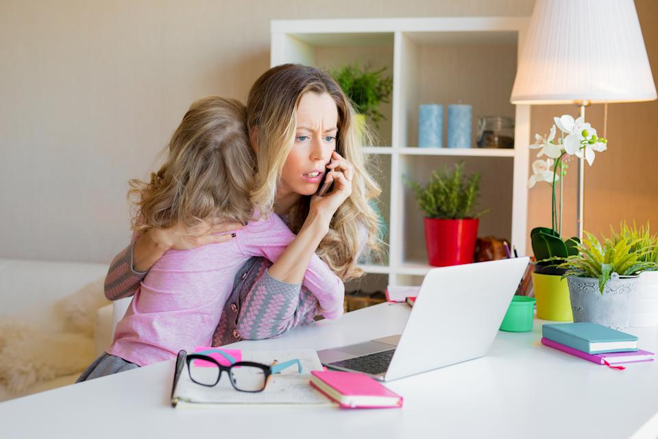 With school holidays starting many parents will be facing childcare issues, which may take the shine off any joy. (Getty Images)