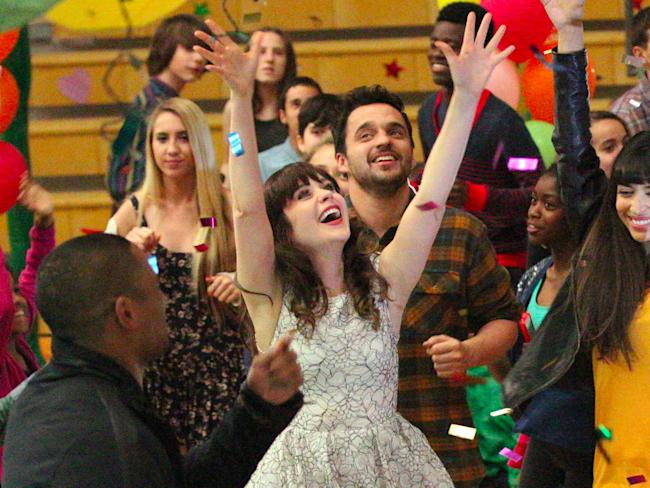 new girl renewed zooey deschanel