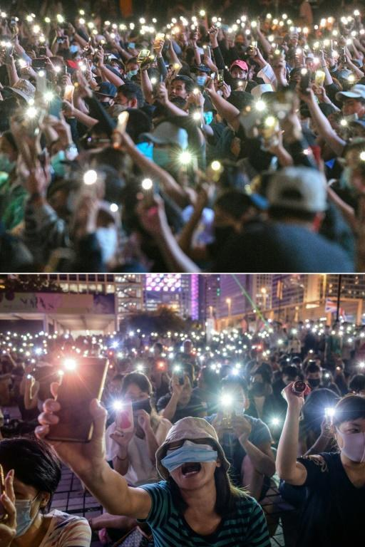 The images from the Thailand protests are strongly reminiscent of last year's Hong Kong movement