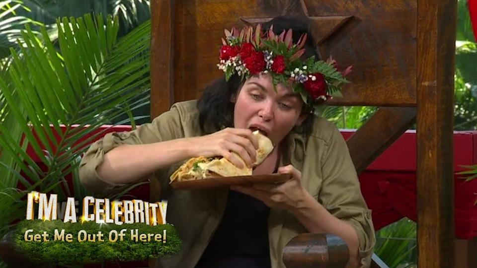 The star won the 2016 series of I'm A Celeb. (ITV)