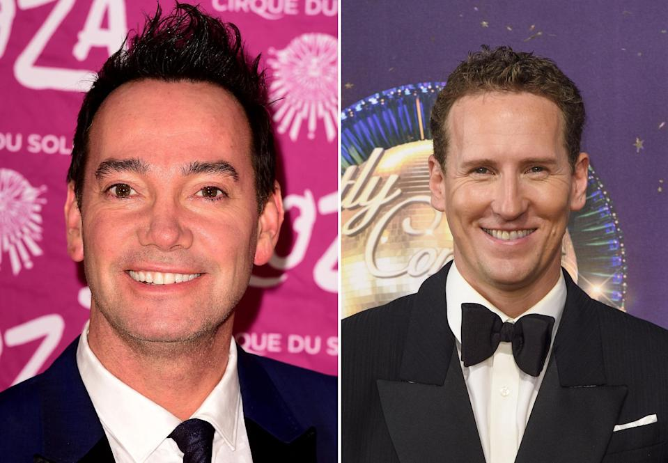 There appears to be bad blood between Revel Horwood and Cole. (PA)