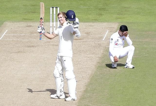 Zak Crawley announced his talent with a stunning knock.