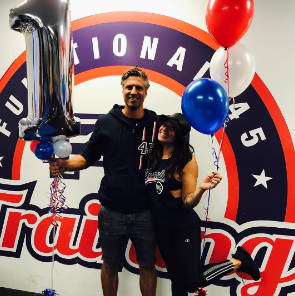 The former radio-show host now owns a fitness business with her hubby. Source: Instagram